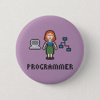 Botón redondo del programador de sexo femenino del