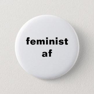 botón redondo feminista del af
