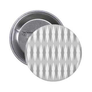 Botón redondo gris moderno de Argyle de los