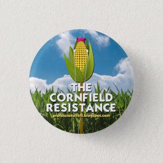 Botón redondo - la resistencia del campo de maíz