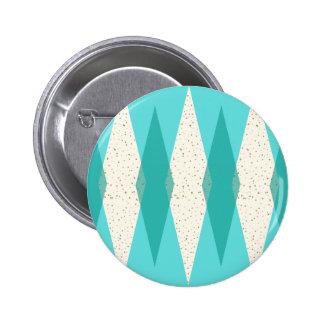 Botón redondo moderno de Argyle de los mediados de