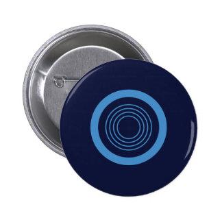 Botón redondo moderno del modelo de lunar