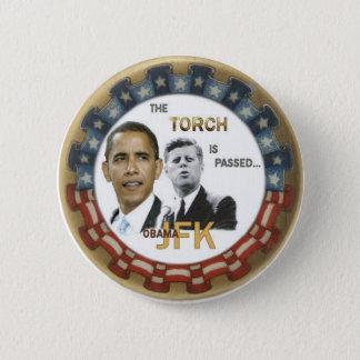 Botón retro de Obama/JFK