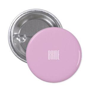 Botón rosado de la novia del angora