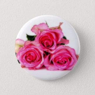Botón rosado de los rosas