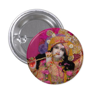 Botón rosado de Sri-Krsna mini