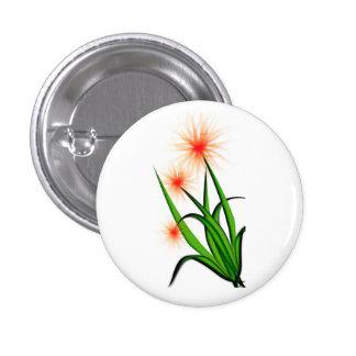botón rosado del diseño floral