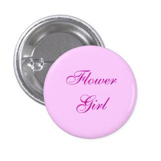 Botón rosado del florista