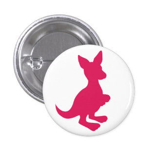 Botón rosado del Wallaby