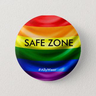 Botón seguro de la zona