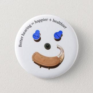 botón sonriente de la cara de una mejor audiencia