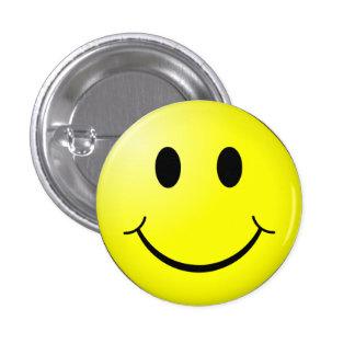 Botón sonriente feliz de la cara