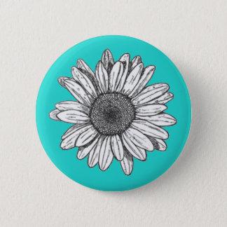 Botón trasero del Pin de la flor