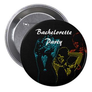 Botón trasero del Pin del fiesta de Bachelorette