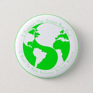 Botón verde de la ayuda del nuevo contrato