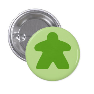 Botón verde de Meeple