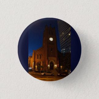 Botón viejo de Pinback de la catedral de Santa