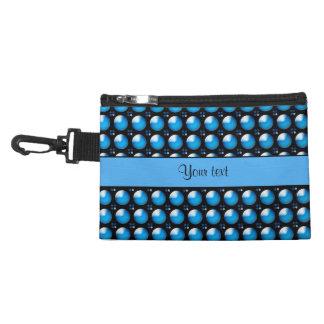 Botones azules elegantes