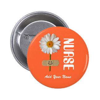 Botones conocidos de encargo del regalo para las chapa redonda de 5 cm