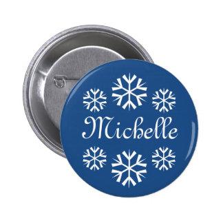 Botones conocidos de la etiqueta para la fiesta de chapa redonda 5 cm