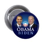 Botones de la elección 2012 de Obama Biden Chapa Redonda De 5 Cm
