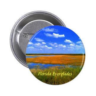 Botones de los marismas de la Florida Chapa Redonda De 5 Cm