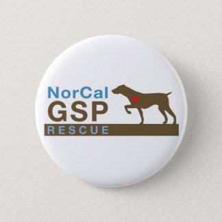 Botones del logotipo chapa redonda de 5 cm