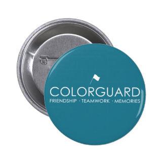 Botones modernos de Colorguard Chapa Redonda De 5 Cm