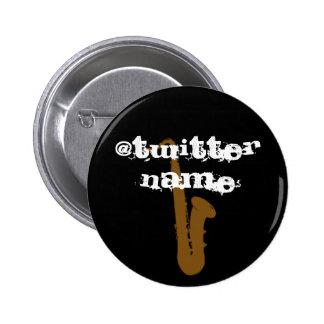 botones musicales de la insignia conocida del gorj pin
