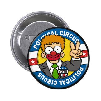 Botones políticos del circo pin