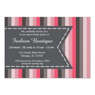 Boutique de la moda invitación 12,7 x 17,8 cm
