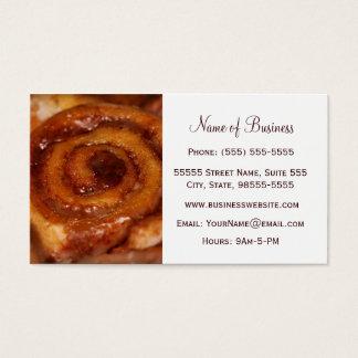 Boutique de la panadería de la repostería y tarjeta de negocios