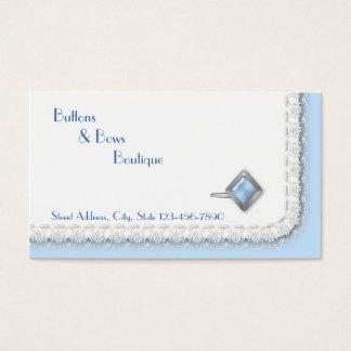 Boutique del desgaste formal con la mancuerna y el tarjeta de negocios