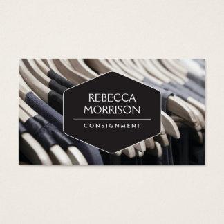 Boutique, envío, diseñador de moda, armario tarjeta de negocios