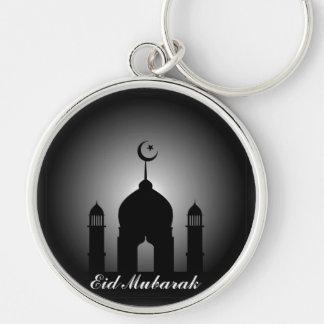 Bóveda de la mezquita y silueta del alminar llavero