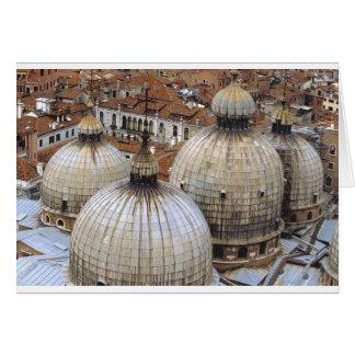 Bóvedas de San Marco Tarjeta De Felicitación