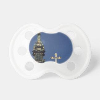 Bóvedas ortodoxas de la iglesia cristiana chupetes para bebés