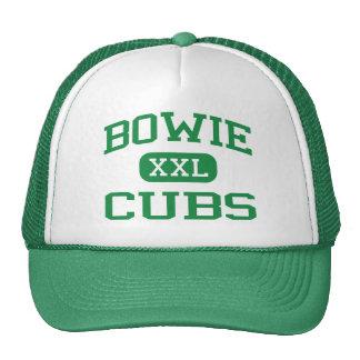 Bowie - Cubs - escuela de secundaria - Irving Teja Gorras De Camionero