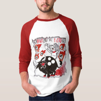Bowlero del Fuego Camiseta