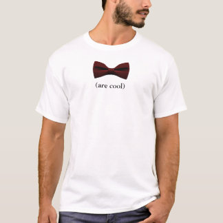 Bowties es fresco camiseta