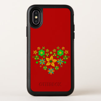 box de nutria Apple x iPhone fundas - Flower Heart