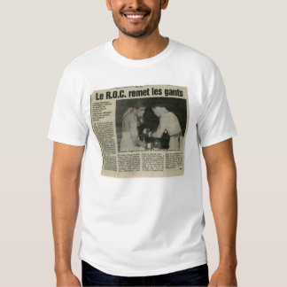 boxe camiseta