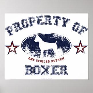 Boxeador Poster