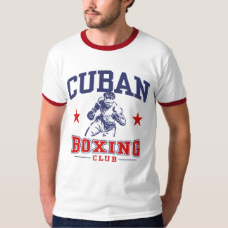 Boxeo cubano camisetas