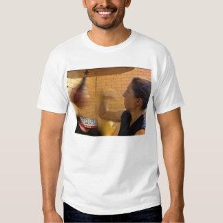 Boxeo de la mujer camisetas