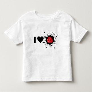 Boxeo del amor del explosivo I Camiseta De Bebé