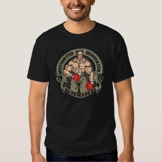 Boxeo motivado camisetas