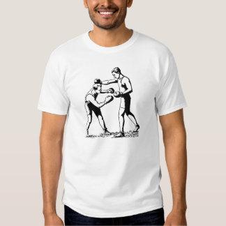 Boxeo retro camiseta
