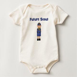 Boy scout body para bebé
