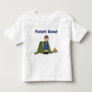 Boy scout futuro camiseta de niño